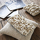 'Porto' Cushion In Hugo Knit