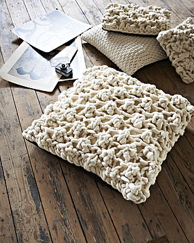 'Max' Cushion In Hugo Knit
