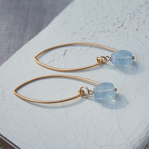 Gold Sky Earrings - earrings