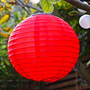 Pair Of Solar Chinese Lanterns