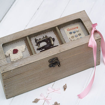 Victorian Style Sewing Box