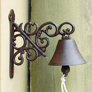 Cast Iron Doorbell - gifts for the home