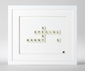 Very Special Nanny Scrabble Art - mother's day gifts