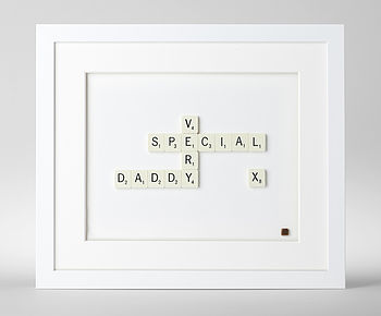 'Very Special…' Scrabble Art