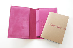 Double Notebook Wrap - advertising & media