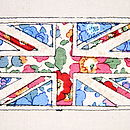 Embroidered Union Jack Artwork