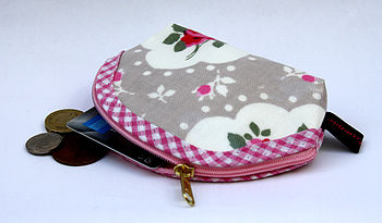 Oilcloth Floral Coin Purse