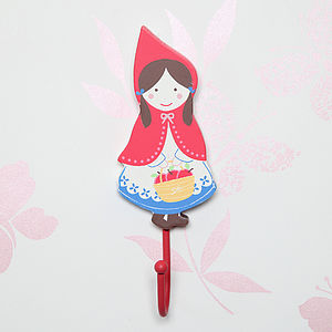 Red Riding Hood Wall Hook - bedroom