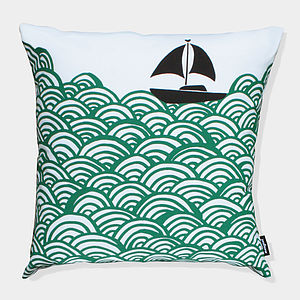 Bigger Boat Cushion Cover - cushions