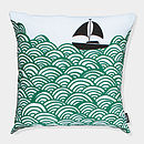 Bigger Boat Cushion Cover