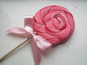 Lollipop Twirls - wedding favours
