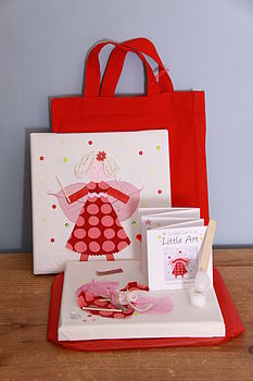 Snow Fairy Canvas Craft Kit