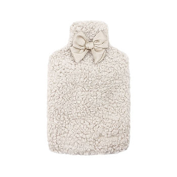 Ruby & Ed Hot Water Bottle Cover - Cloud