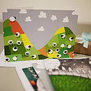 Pack Of Four Child's Greetings Cards