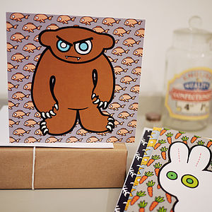 Pack Of Five Leelu's Big Friends Cards