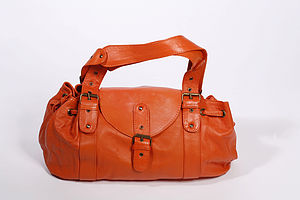 Adiba Leather Saddle Bag - bags, purses & wallets