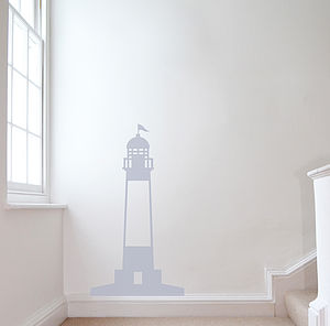 Lighthouse Wall Sticker - inspired by the seaside