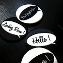 Design Your Own Speech Bubble Mirror