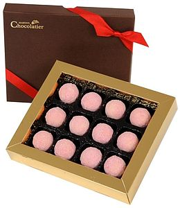 Strawberry And Champagne Truffles - cakes & treats