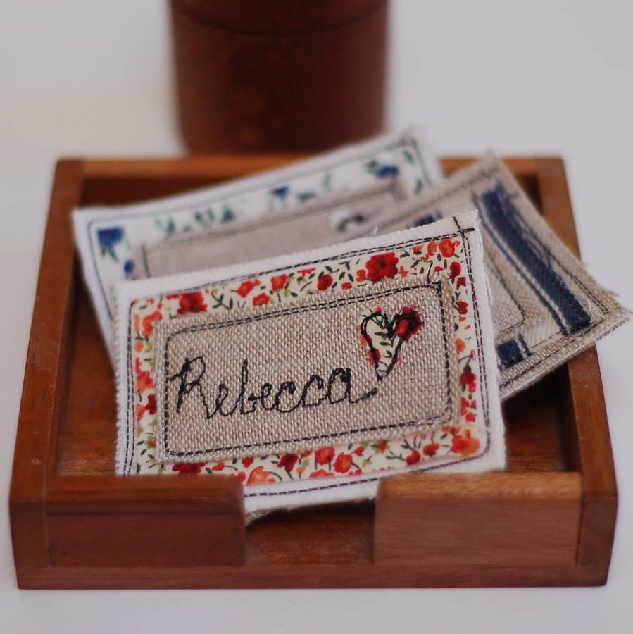 Personalised Handmade Name Badge