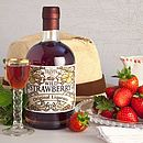 Personalised Wild Strawberry Liqueur