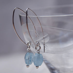 Silver Sky Earrings - earrings