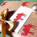 Handmade Camel Christmas Wrapping Paper