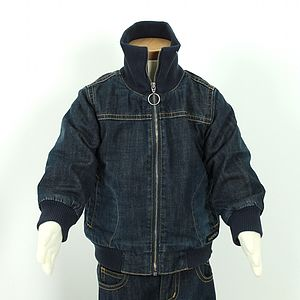 Children's Padded Denim Jacket