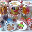 Lots Of Pots Of Sweets Santa Advent Calendar