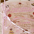 Tea Party Wedding Stationery Range