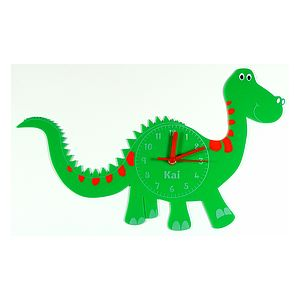 Personalised Dinosaur Clock - children's clocks