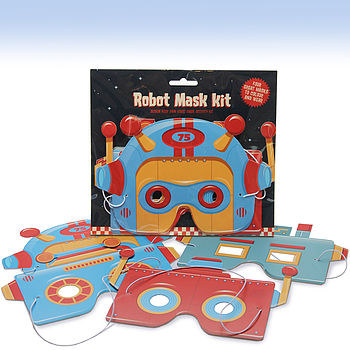 Robot Mask Activity Kit