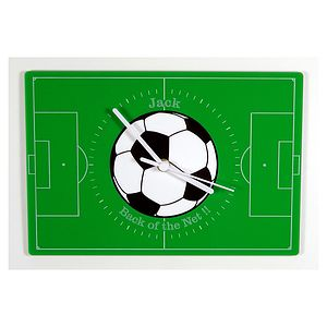 Personalised Football Pitch Clock