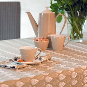 Isabella Stone Organic Table Cloth