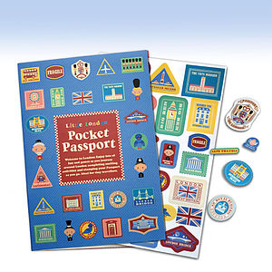 Little London Pocket Passport - books