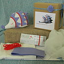 Packaging,Finished Hedgehog and kit contents