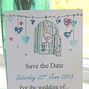 Mini 'Love Birds' Save The Dates