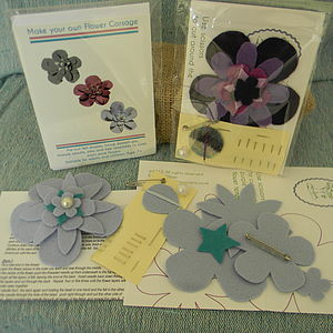 Make Your Own Flower Corsage Kit - toys & games