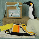 Make Your Own Penguin Sewing Kit