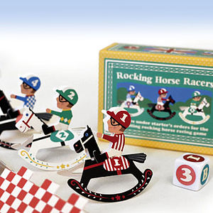 Rocking Horse Racers Game - traditional toys & games