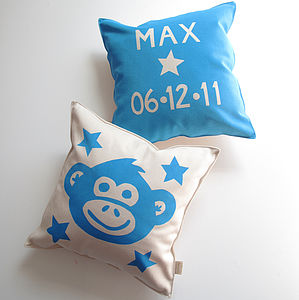 Personalised Child's Birthday Cushion - children's cushions
