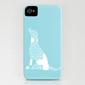 Damask Labrador Retriever Dog Phone Case - tech accessories for her