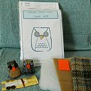 Little Tweed Owls+package and kit contents
