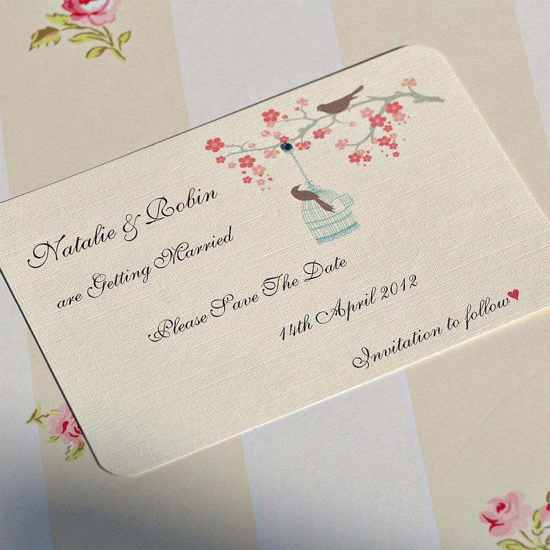 create your own save the date cards