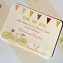 Made For Two Save The Date Card
