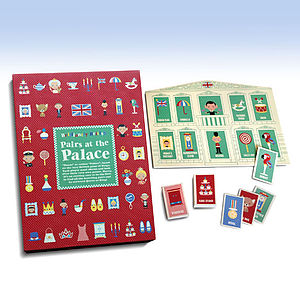 Pairs At The Palace Bingo Game - educational toys