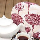 Red Floral Tea Cosy