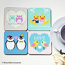 Love Coasters Set