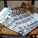 Circus Tea Towel
