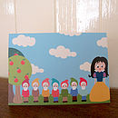 Snow White Card
